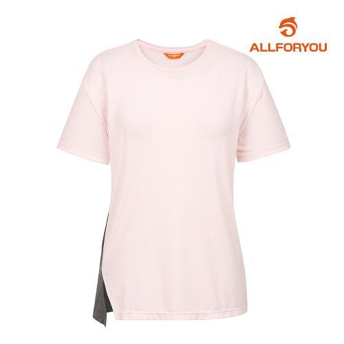 [올포유]여성 트임 반팔 티셔츠 AWWJI6326-403_G