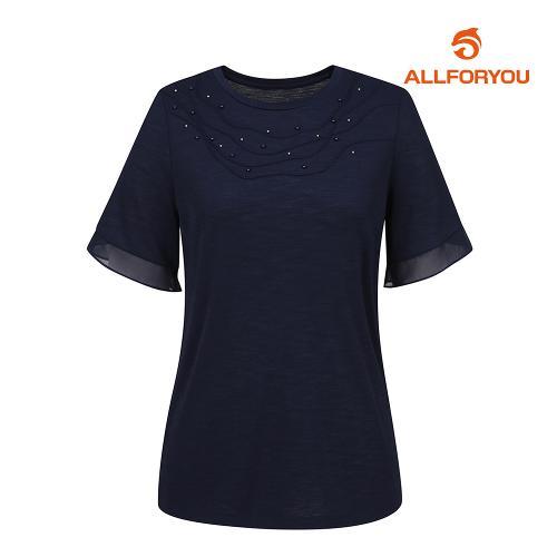 [올포유]여성 반팔 티셔츠 AWTRJ6171-915_G