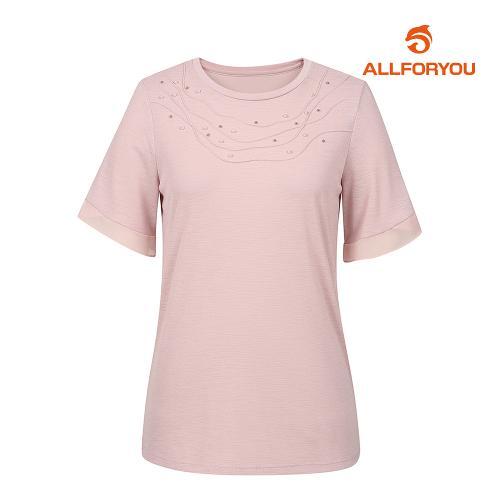 [올포유]여성 반팔 티셔츠 AWTRJ6171-403_G