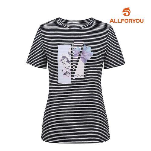 [올포유]여성 줄무늬 반팔 티셔츠 AWTRJ6170-915_G