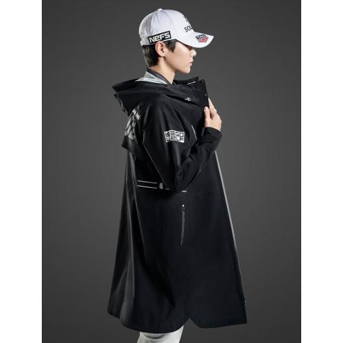 [빈폴골프] [NDL라인] 여성 블랙 패커블 레인 코트 (BJ1339L435)