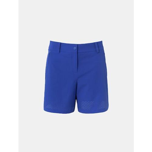 [빈폴골프] [NDL라인] 여성 블루 펀칭 3부 쇼트 팬츠 (BJ1325L40P)
