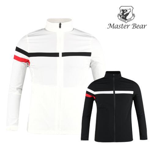 마스터베어 남성 봄 여름 골프 바람막이 MS1MV111