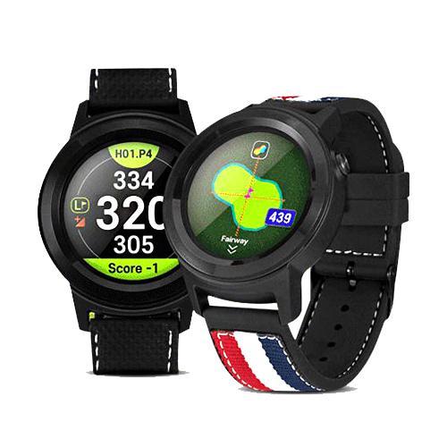 [2021년신제품]골프버디 aim W11 시계형 골프거리측정기 GPS 골프워치+볼빅꽃길만걷자골프볼24알