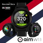 [2021년신제품]골프버디 aim W11 시계형 골프거리측정기 GPS 골프워치[45홀연속/전세계골프코스장착]