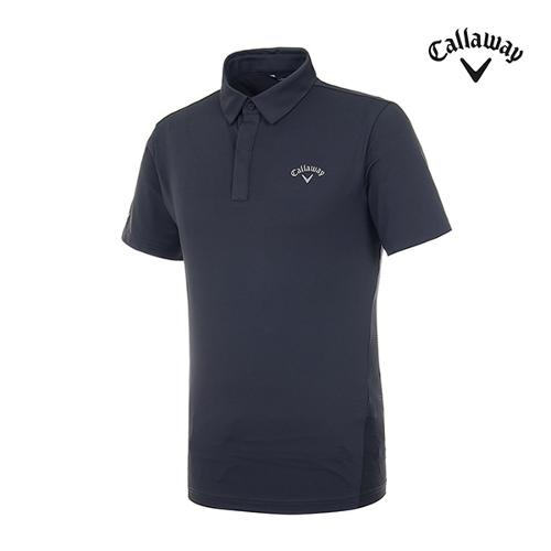 [캘러웨이]남성 메쉬 프린트 반팔 티셔츠 CMTYI2376-192_G