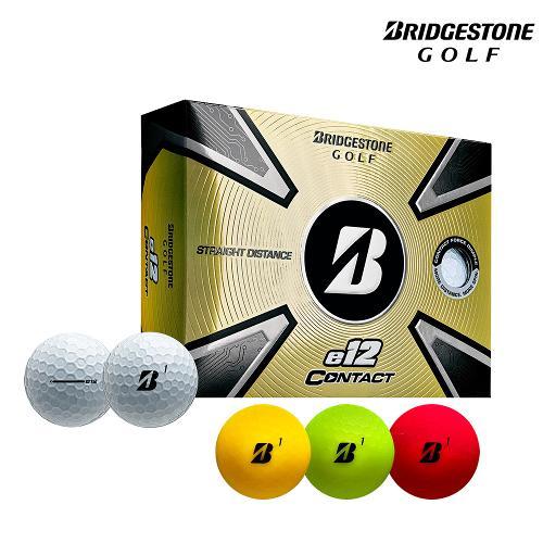 [석교정품] 21년 브리지스톤 e12 컨택트 골프공_3피스