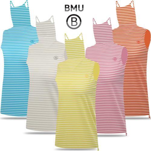 [BMU] 아이스 스트라이프패턴 여성 귀달이 민소매 티셔츠_254934