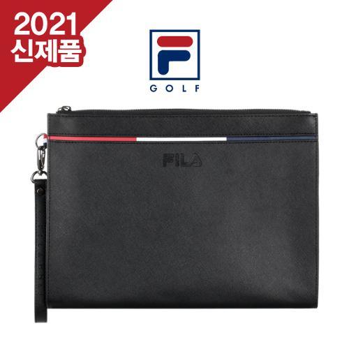 [2021년신제품]FILA GOLF 휠라골프 남,여공용 삼색라인 사피아노 클러치백/파우치[선물용하드케이스포함]
