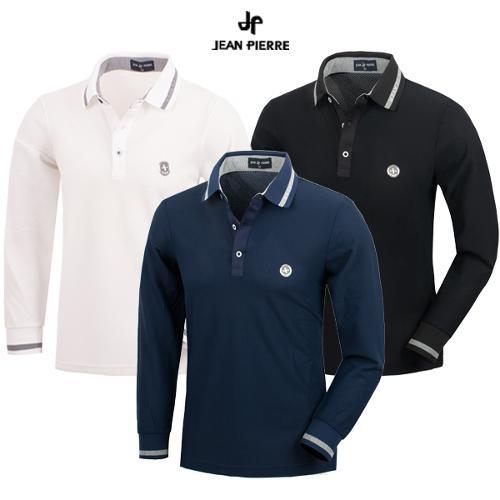 [JEAN PIERRE] 통기성 좋은 신축 스판 골프티셔츠 특가