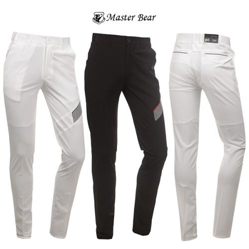 [MASTER BEAR] 슬림핏 스판 신축 골프바지 특가