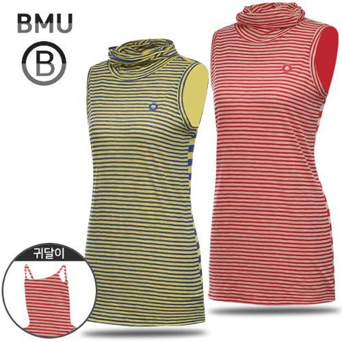 [BMU] 멀티 스트라이프 여성 귀달이 민소매 이너웨어/언더레이어/골프웨어_254952