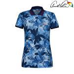 아놀드파마 여성 트로피컬 카라티셔츠 ALM9KL09-BU