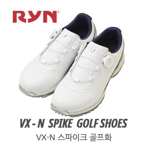 [천연소가죽-국내産]RYN 린 골프 VX-N 스파이크 보아형 골프화