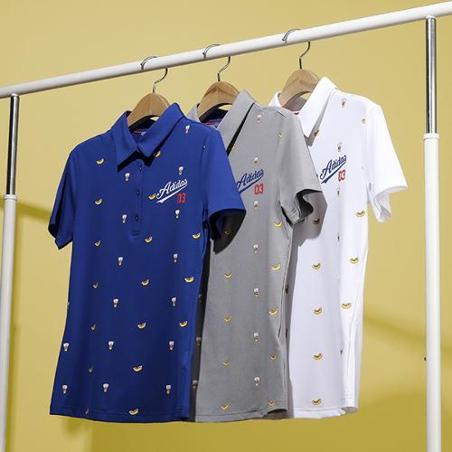 아디다스 SS 아디크로스 여성 LA 폴로 반팔 셔츠