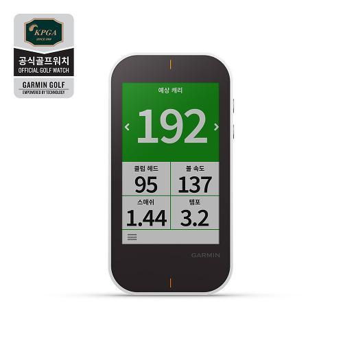 [가민코리아정품] 어프로치 G80 골프GPS 거리측정기/스윙분석/런치모니터