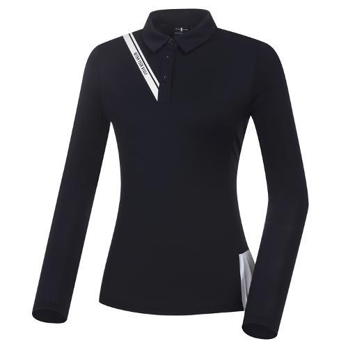 [와이드앵글] 여성 CF W.ICE FIN FIT 플리츠 냉감 긴팔 티셔츠 L WWM21243N4