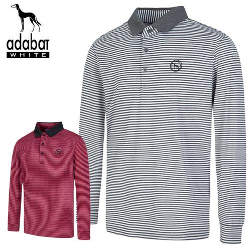 [아다바트] 시보리카라 남성 긴팔 골프티셔츠