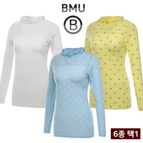 균일 [BMU] UV차단 냉감 스판 여성 귀달이 이너웨어 균일가 6종 택1/골프웨어_255046