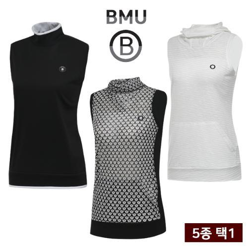 균일 [BMU] 핫썸머 냉감 스판 여성 민소매 티셔츠 균일가 5종 택1/골프웨어_255044
