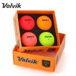 2021 볼빅 NEW VIVID 3피스 골프공 멀티색상 4알