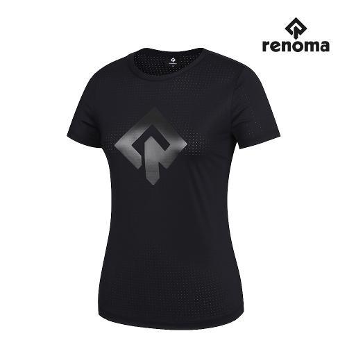 [레노마골프]여성 펀칭 라운드 반팔 티셔츠 RWTRJ6139-199_G