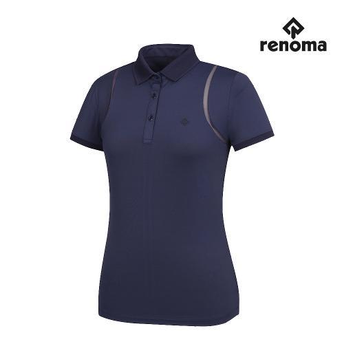 [레노마골프]여성 메쉬 카라 반팔 티셔츠 RWTPJ6112-915_G