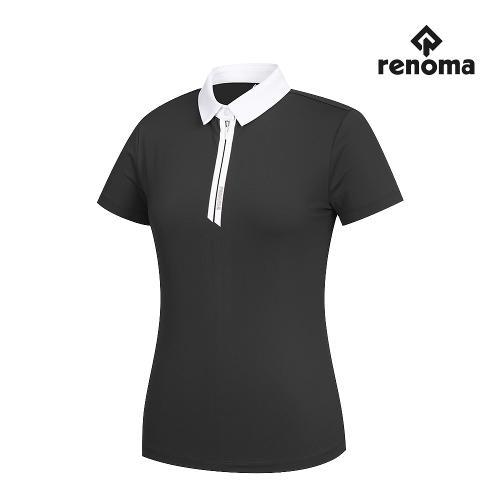 [레노마골프]여성 카라 반집업 반팔 티셔츠 RWTYJ6109-195_G
