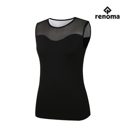 [레노마골프]여성 앞등판 메쉬 패치 민소매 티셔츠 RWTSJ6141-199_G