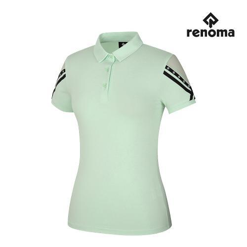 [레노마골프]여성 소매 카라 반팔 티셔츠 RWTYJ6133-818_G