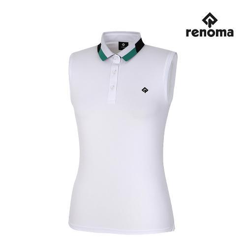 [레노마골프]여성 3색 카라 민소매 티셔츠 RWTSJ6183-101_G
