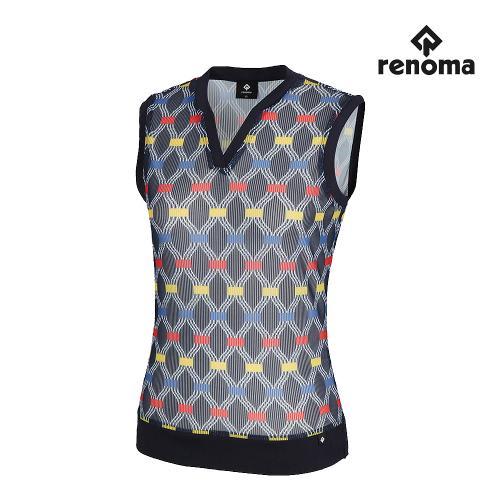 [레노마골프]여성 넥변형 민소매 티셔츠 RWTRJ6172-915_G