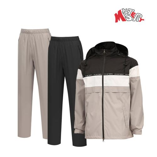 미스테리골프 남성 방수 비옷 상하의세트 (MS-RW01)