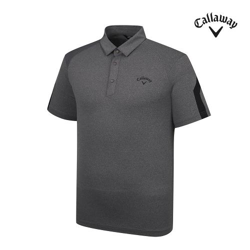 [캘러웨이]21SS 남성 배색 라인 반팔 티셔츠 CMTYK2142-193_G