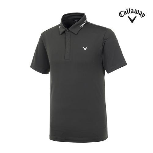 [캘러웨이]남성 라인 카라 반팔 티셔츠 CMTYI2253-816_G