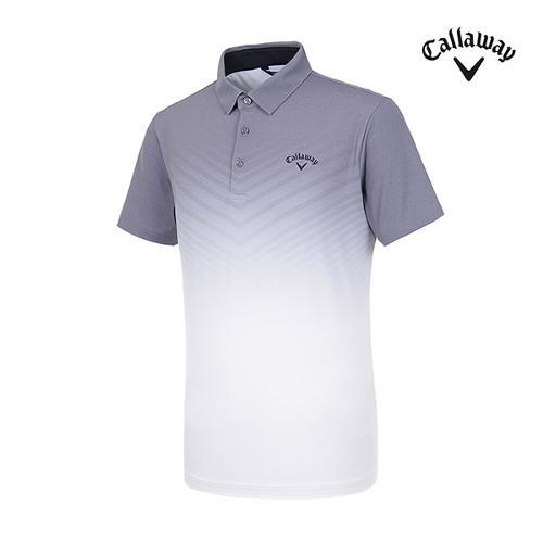 [캘러웨이]남성 그라데이션 반팔 티셔츠 CMTYI2372-193_G