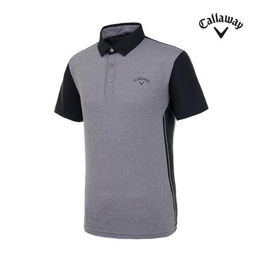 [캘러웨이]남성 사이드 펀칭 반팔 티셔츠 CMTYI2344-193_G
