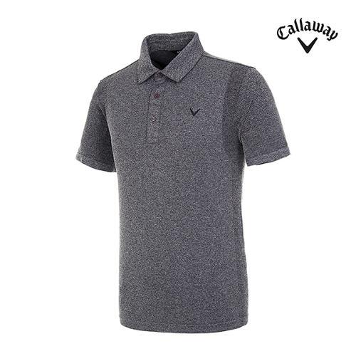 [캘러웨이]남성 믹스얀 반팔 카라 티셔츠 CMTYI2142-193_G