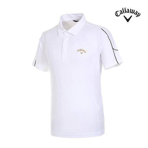 [캘러웨이]남성 컨트라스트 반팔 티셔츠 CMTYI2141-100_G