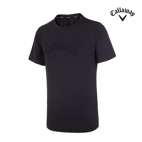 [캘러웨이]남성 엠보 로고 반팔 티셔츠 CMTRI2351-199_G