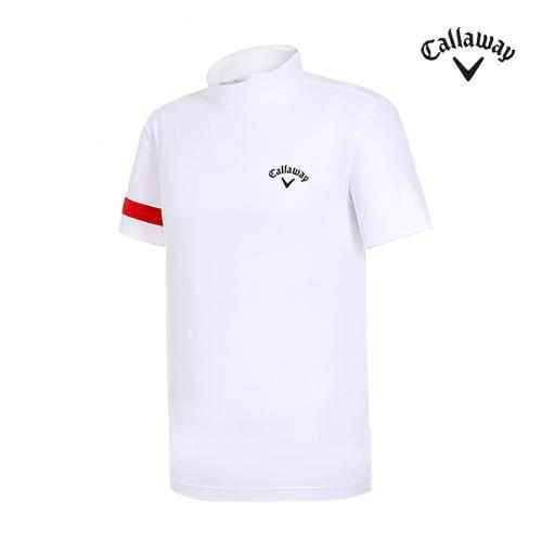 [캘러웨이]남성 슬리브 하이넥 티셔츠 CMTHI2251-100_G
