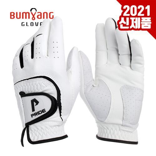 [2021년신제품]범양글러브 PRIDE 0402빨아쓰는원단 반양피 남성용 골프장갑-1PCS