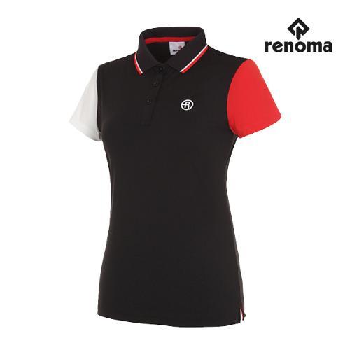 [레노마골프]여성 언발란스 반팔 티셔츠 RWTPG6134-199_G