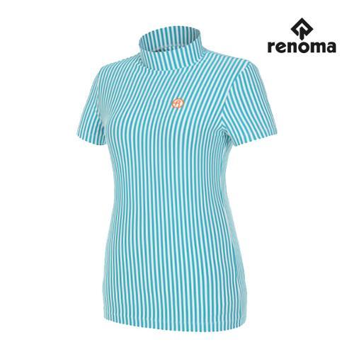 [레노마골프]여성 버티컬 하이넥 반팔 티셔츠 RWTHG6121-830_G
