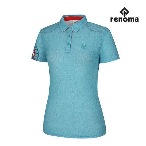 [레노마골프] 여성 소매 포인트 카라 반팔 티셔츠 RWTYH6121-830_G