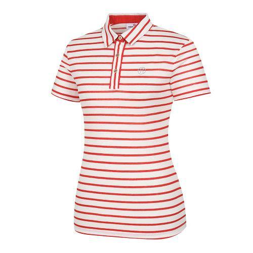 [레노마골프]여성 스트라이프 카라 반팔 티셔츠 RWTYI6123-301_G