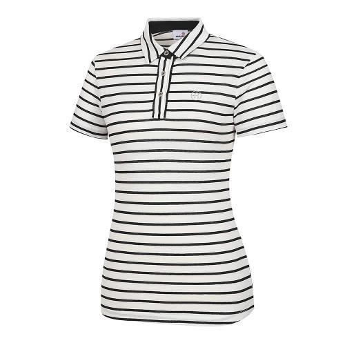 [레노마골프]여성 스트라이프 카라 반팔 티셔츠 RWTYI6123-199_G