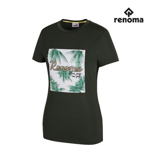 [레노마골프]여성 프린팅 반팔 티셔츠 RWTRH6136-816_G