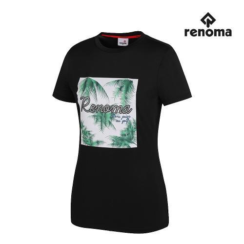 [레노마골프]여성 프린팅 반팔 티셔츠 RWTRH6136-199_G