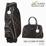 던롭 젝시오 GGC-X113WK 캐디백세트 골프백세트 여성